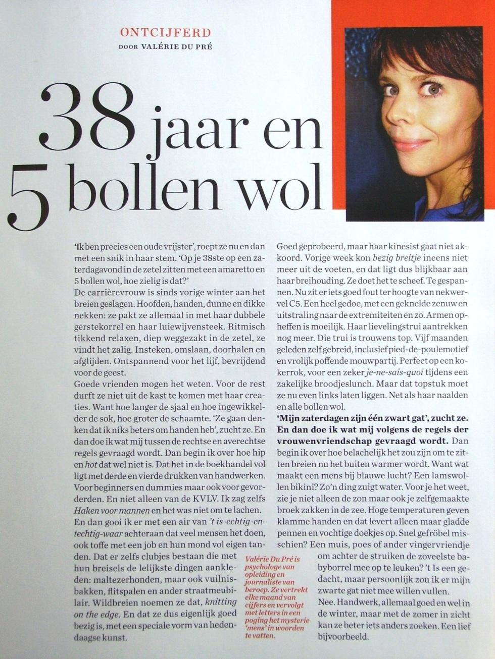 column Valérie Du Pré